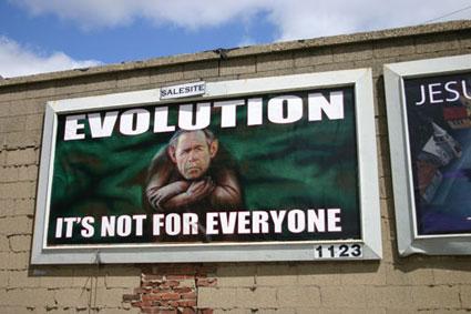 Evolution Billboard