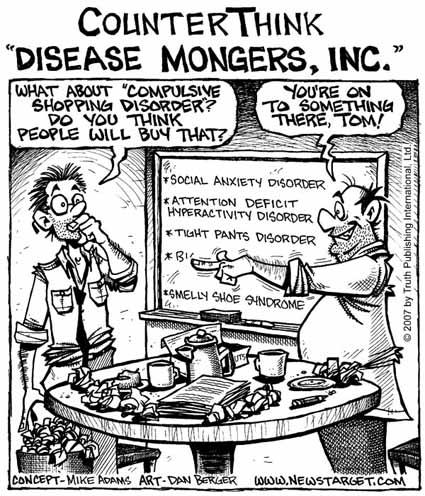 Cartoon by Mike Adams of www.NewsTarget.com