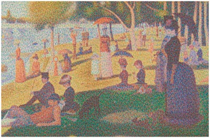 Chris Jordan, Cans Seurat, 2007