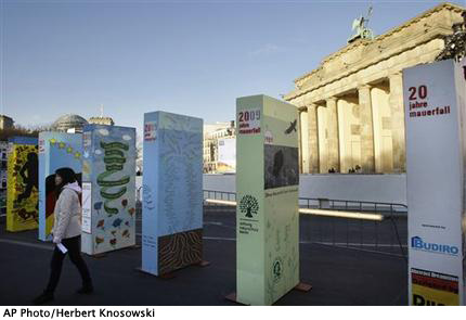 Germany Wall Anniversary Dominoes