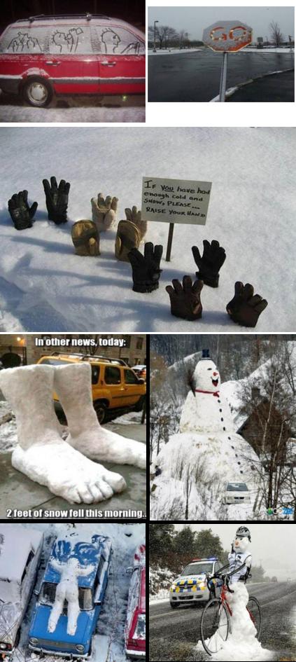 Winter follies