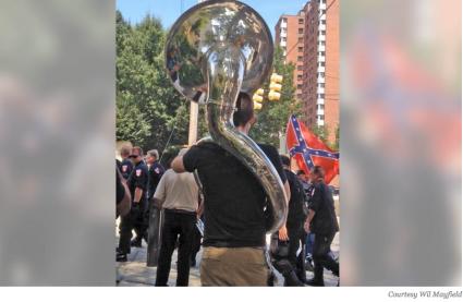 Matt Buck with Tuba