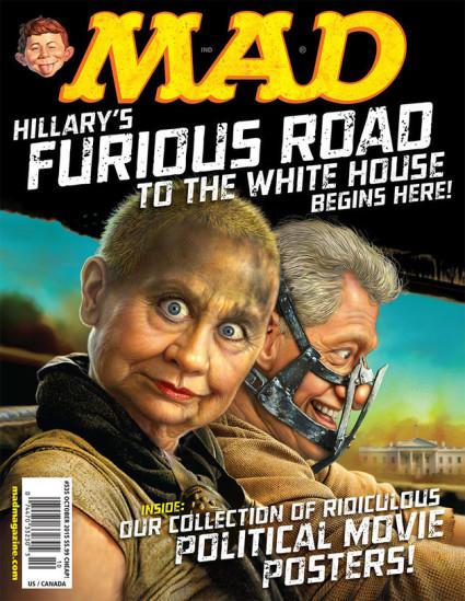 Mad magazine's Hillary Clinton poster