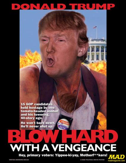 Mad magazine's Donald Trump poster