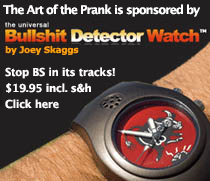 Bullshit Detector Watch